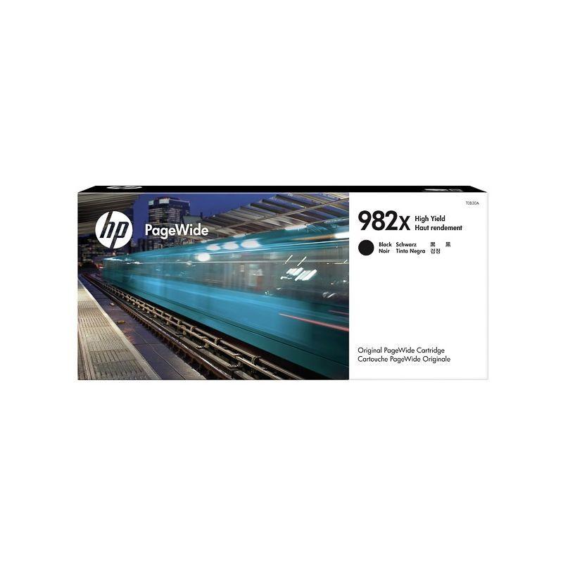 HP Cartouche jet d'encre Noir Haute Capacité HP pour PageWide Enterprise color 765dn... (N°982X)