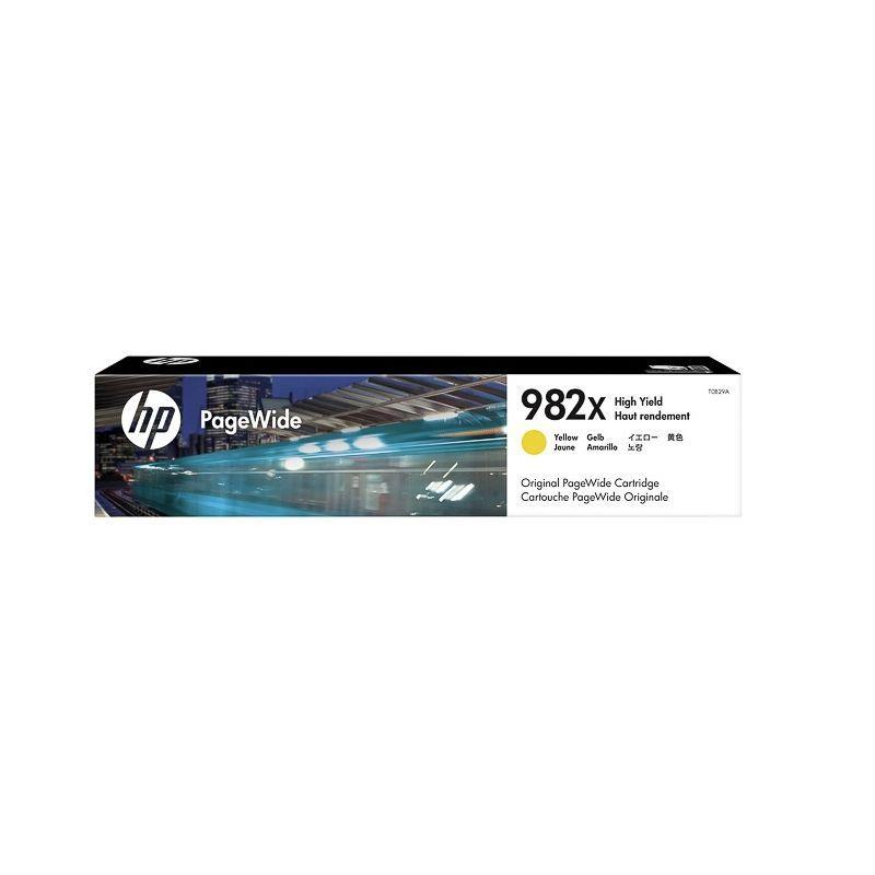 HP Cartouche jet d'encre Jaune Haute Capacité HP pour PageWide Enterprise color 765dn... (N°982X)
