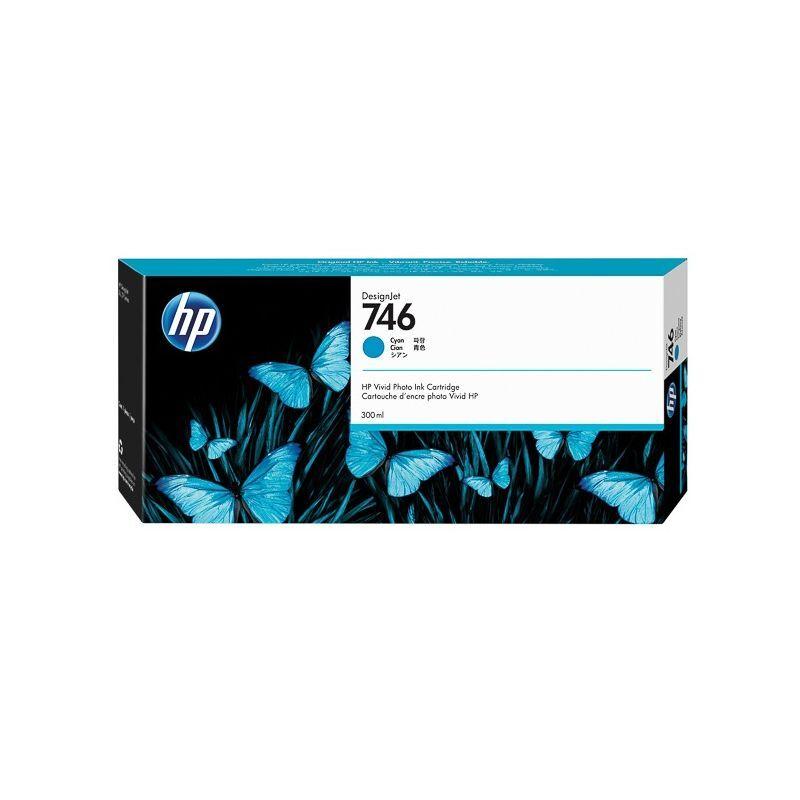 HP Cartouche Cyan HP pour Designjet Z6 - Z6dr - Z9+ ... (N°746)