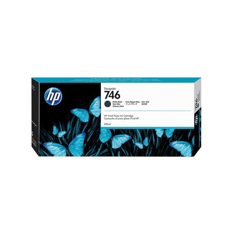 HP Cartouche Noir Mat HP pour Designjet Z6 - Z6dr - Z9+ ... (N°746)