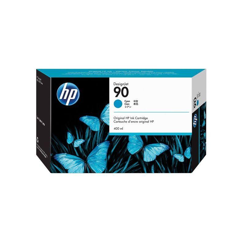 HP Cartouche cyan HP haute capacité pour designjet 4000... (N°90)