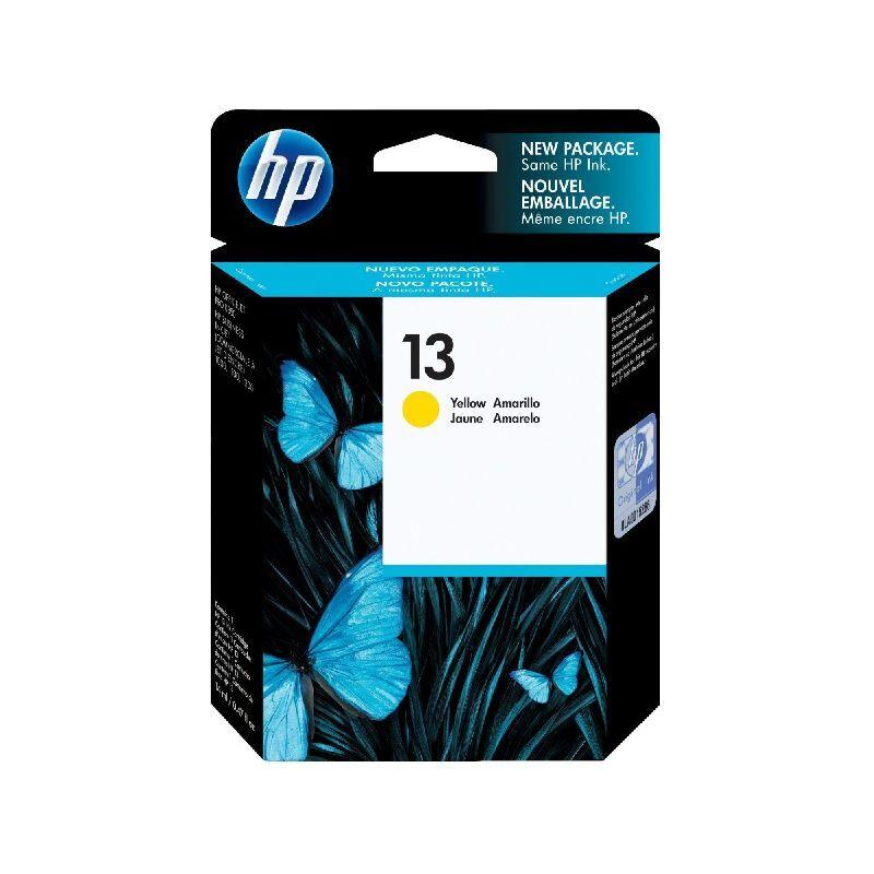 HP Cartouche Encre Jaune HP pour Business Inkjet 1000 ... (N°13)