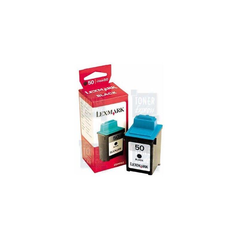 Lexmark Cartouche noire haute résolution LEXMARK Z12/Z22... (N°50)