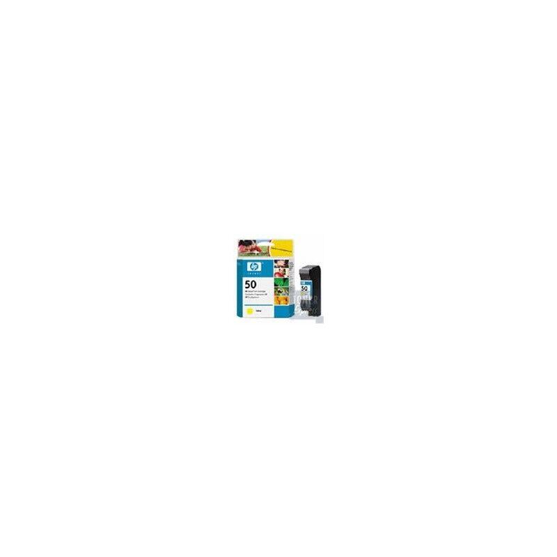 HP Cartouche Encre Jaune HP (51650Y)