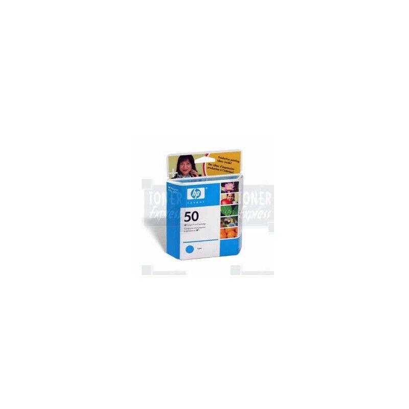 HP Cartouche Encre Cyan HP (51650C)