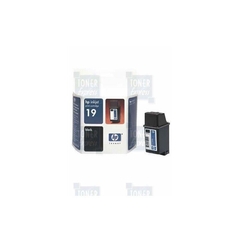 HP Cartouche Encre Noire HP N°19 (C6628AE)