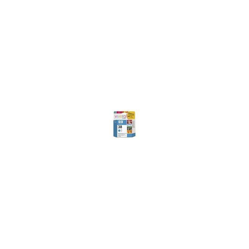 HP Cartouche d'encre vivera cyan HP pour Photosmart Pro B9180... (N°38)