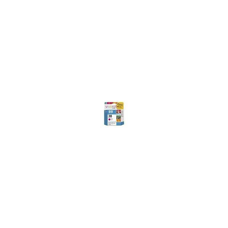 HP Cartouche d'encre vivera magenta HP pour Photosmart Pro B9180... (N°38)