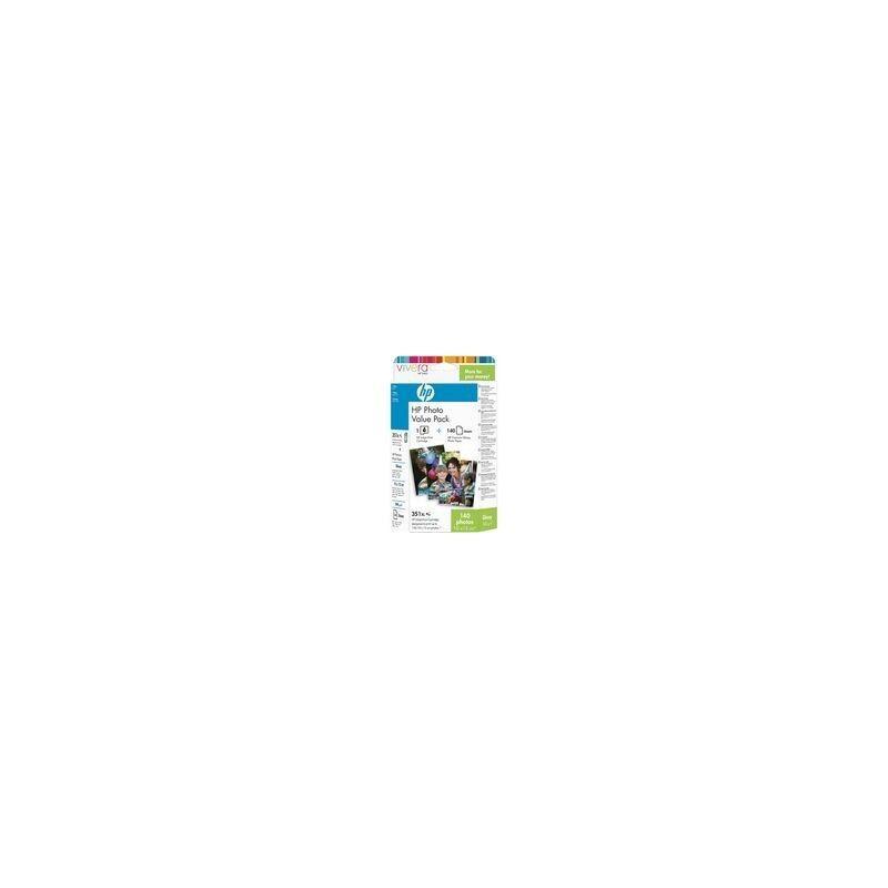 HP Cartouche d'encre couleur HP N°351 + 140 feuilles