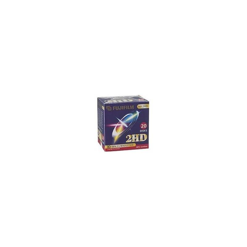 Fujifilm Disquette Fuji 46643 3.5 MF 2HD DOS P10 BLUE