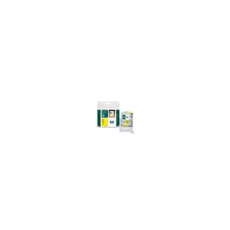HP Cartouche Encre Jaune HP pour Business Inkjet 3000 (N°12)