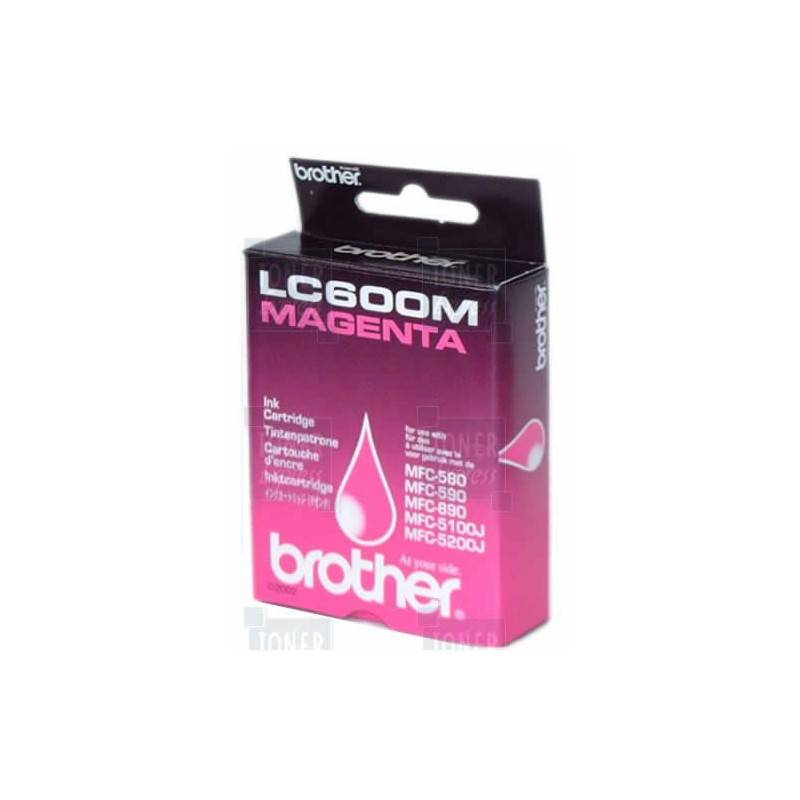 Brother Cartouche d'encre Brother LC600M Magenta