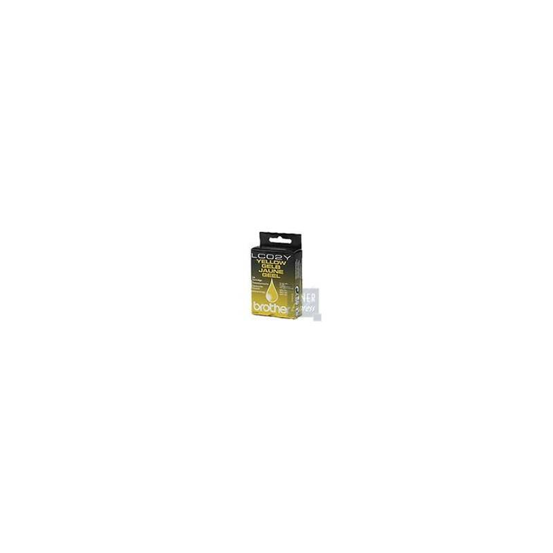 Brother Cartouche d'encre Brother LC02Y Jaune