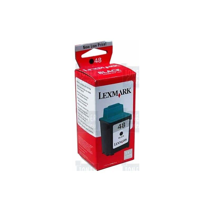 Lexmark Cartouche d'encre Lexmark n° 48 Noir (Usage Modéré)