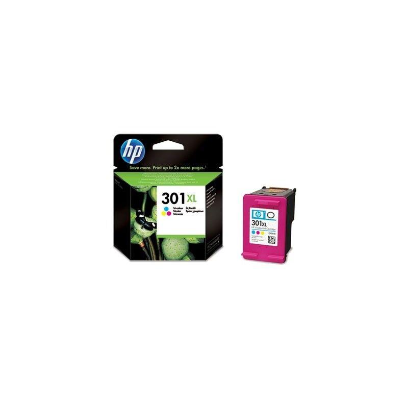 HP Cartouche couleur HP pour deskjet 1050 / 2050 / 3050 ... (N°301XL)