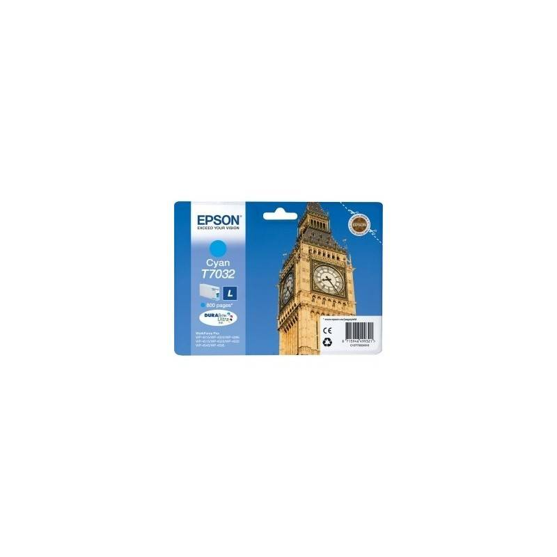 Epson Cartouche d'encre cyan Epson L pour WorkForce Pro WP4000/4500 SERIES