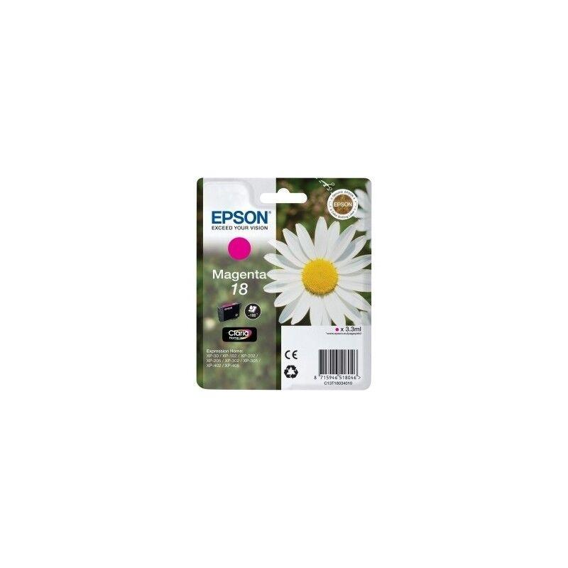 Epson Cartouche magenta EPSON pour Expression Home XP-205 / XP-30 ... (N°18)