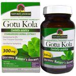 Natures Answer Gotu Kola, Standardized Herbal Extract, 300 mg (60 Veggie... par LeGuide.com Publicité