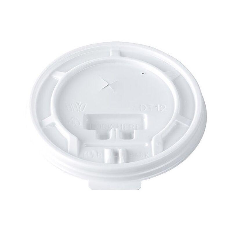 Duni 100 Couvercles en plastique pour gobelets Thermo 33 cl