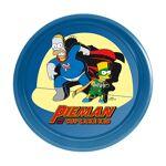 Plateau métal rond bleu Les Simpsons?  Plateau métal rond bleu Les Simpsons?... par LeGuide.com Publicité