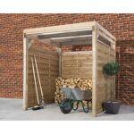 Carport en bois traité autoclave 4m² Le carport en bois traité autoclave... par LeGuide.com Publicité