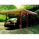 Carport en bois Solid 15,5m² Ce carport en bois de la marque Solid dispose... par LeGuide.com Publicité