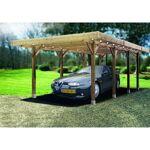 Carport en bois Solid 25,5m² Le carport en bois de la marque Solid dispose... par LeGuide.com Publicité