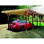 Carport en bois Solid 20,5m² Le carport en bois de la marque Solid dispose... par LeGuide.com Publicité