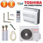 toshiba  Toshiba Pack Climatisation à faire poser Console Toshiba RAS-B18U2FVG-E... par LeGuide.com Publicité
