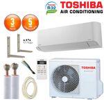 toshiba  Toshiba Pack Climatisation à faire poser Toshiba Seiya RAS-24J2KVG-E... par LeGuide.com Publicité