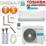 toshiba  Toshiba Pack Climatisation à faire poser Mural TOSHIBA DAISEIKAI... par LeGuide.com Publicité
