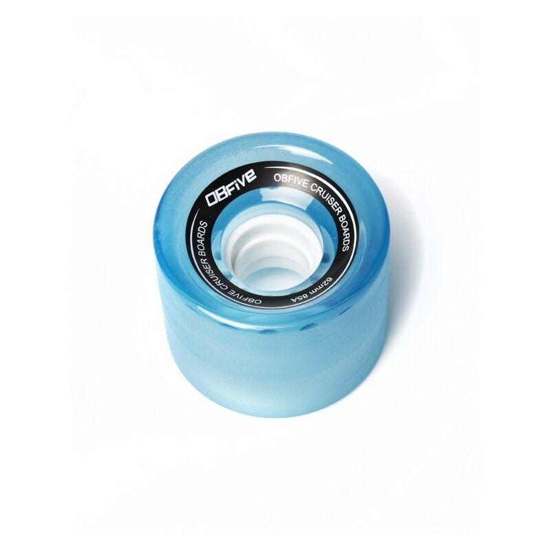 OBFIVE 4 Roues skateboard OBFIVE Cruiser Wheel 62mm 85a - Bleu