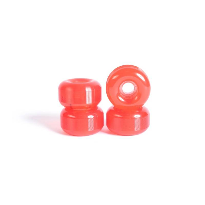 YOCAHER Roues skateboard - YOCAHER 54x32mm 99a - Translucid Red