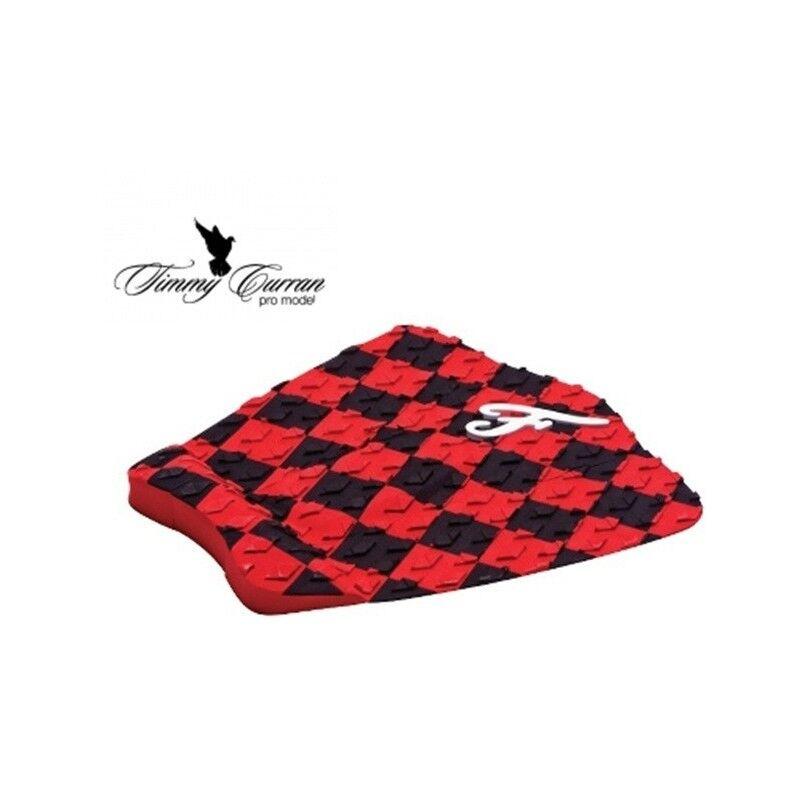 FAMOUS Traction Pad Surf FAMOUS Timmy Curran Pro Model - Noir/Rouge