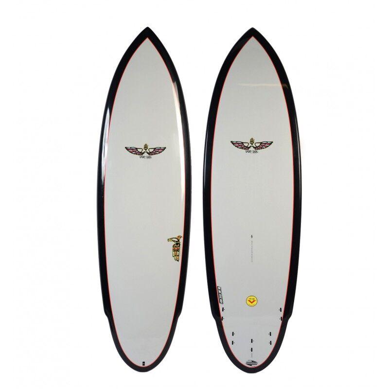 BOARDWORKS Planche de Surf BOARDWORKS Von Sol Shadow grey/black (epoxy)