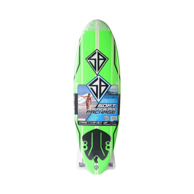 CBC CALIFORNIA BOARD COMPANY Planche de Surf - Softboard CBC 6'0 - Neon Green