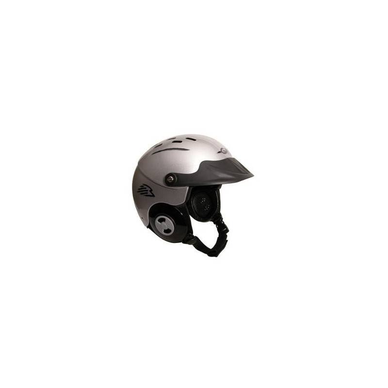 GATH Casque GATH - GEDI (Visière frontale) (Couleurs : Silver, Tailles Casques : M)