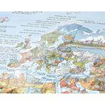 AWESOME MAPS Poster Carte du Monde Hiking Awesome Map Re-writable Carte... par LeGuide.com Publicité
