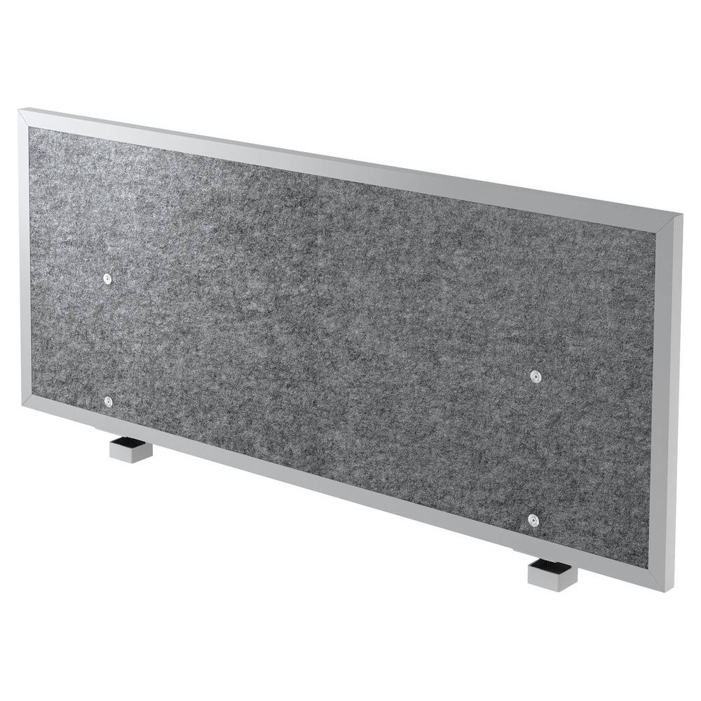 hjh OFFICE PRO ATW 12   Panneau de séparation acoustique - 120 cm Gris Chiné