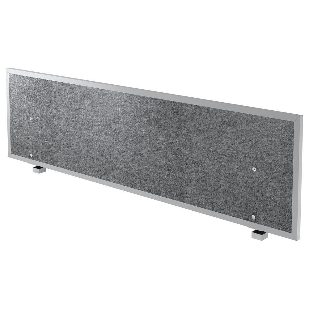 hjh OFFICE PRO ATW 18   Panneau de séparation acoustique - 180 cm Gris Chiné