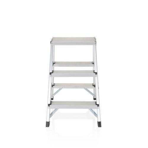 hjh OFFICE SOLID Échelle pliante - 3 niveaux - Échelle pliante Aluminium