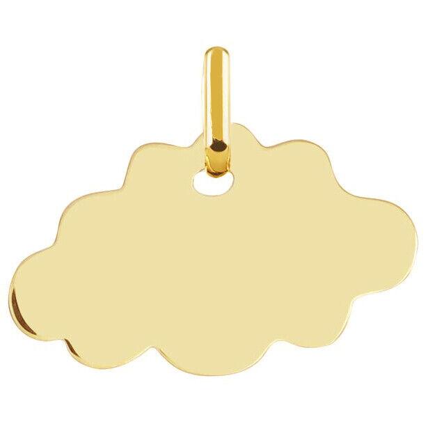 Mon Premier Bijou Médaille Nuage - Or jaune 18ct
