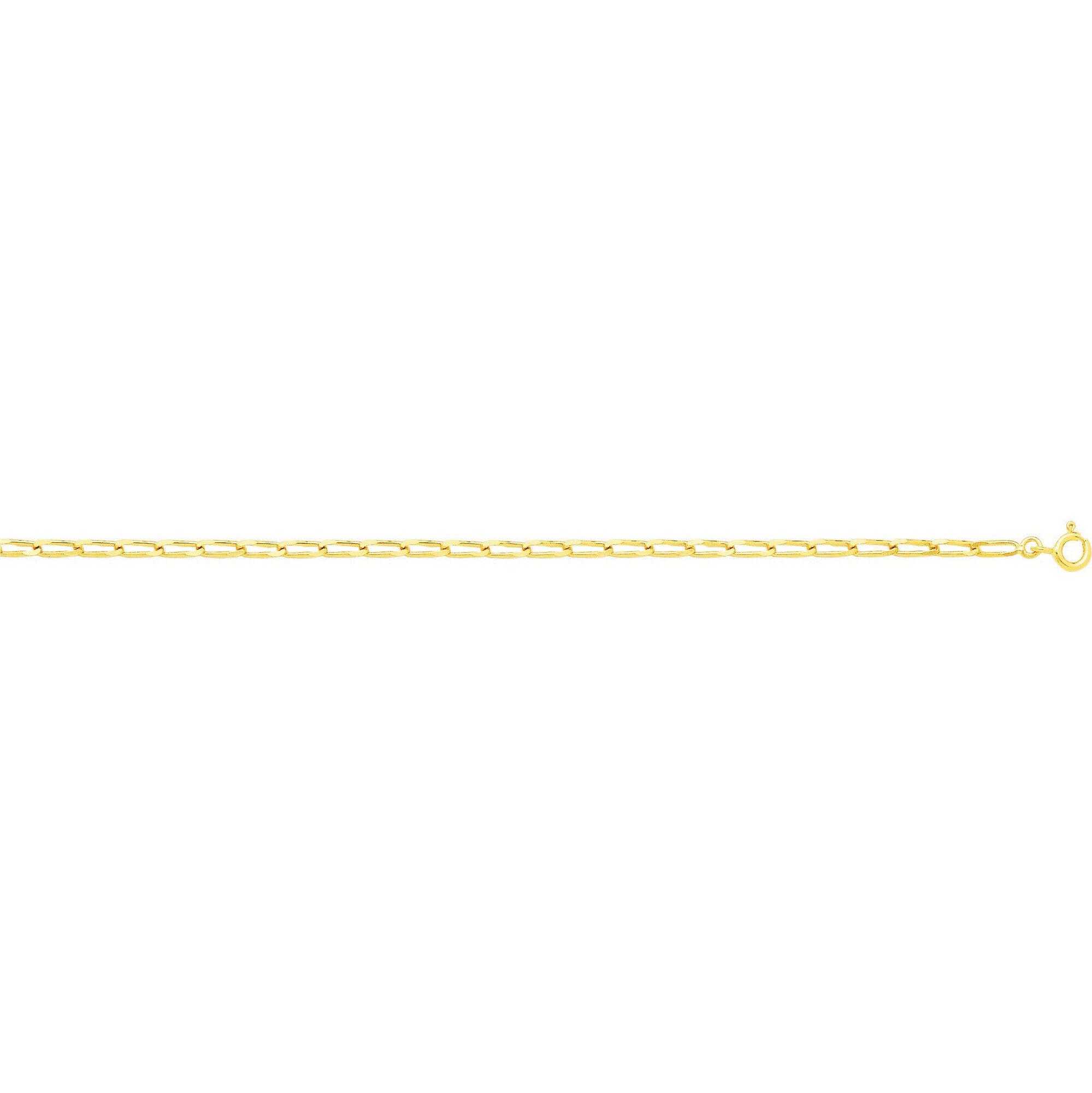 Mon Premier Bijou Bracelet maille cheval - Or jaune 18ct
