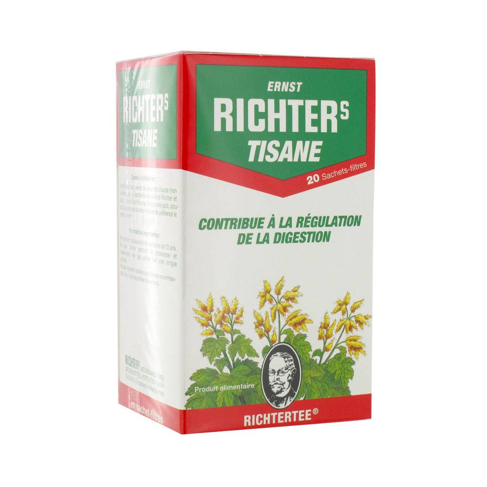 DR. THEISS NATURWAREN ERNST RICHTERS TISANE 20 SACHETS FILTRES