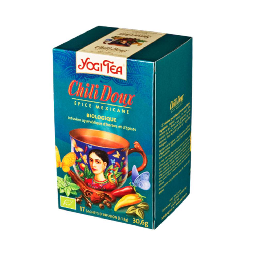 YOGI TEA CHILI DOUX 17 SACHETS