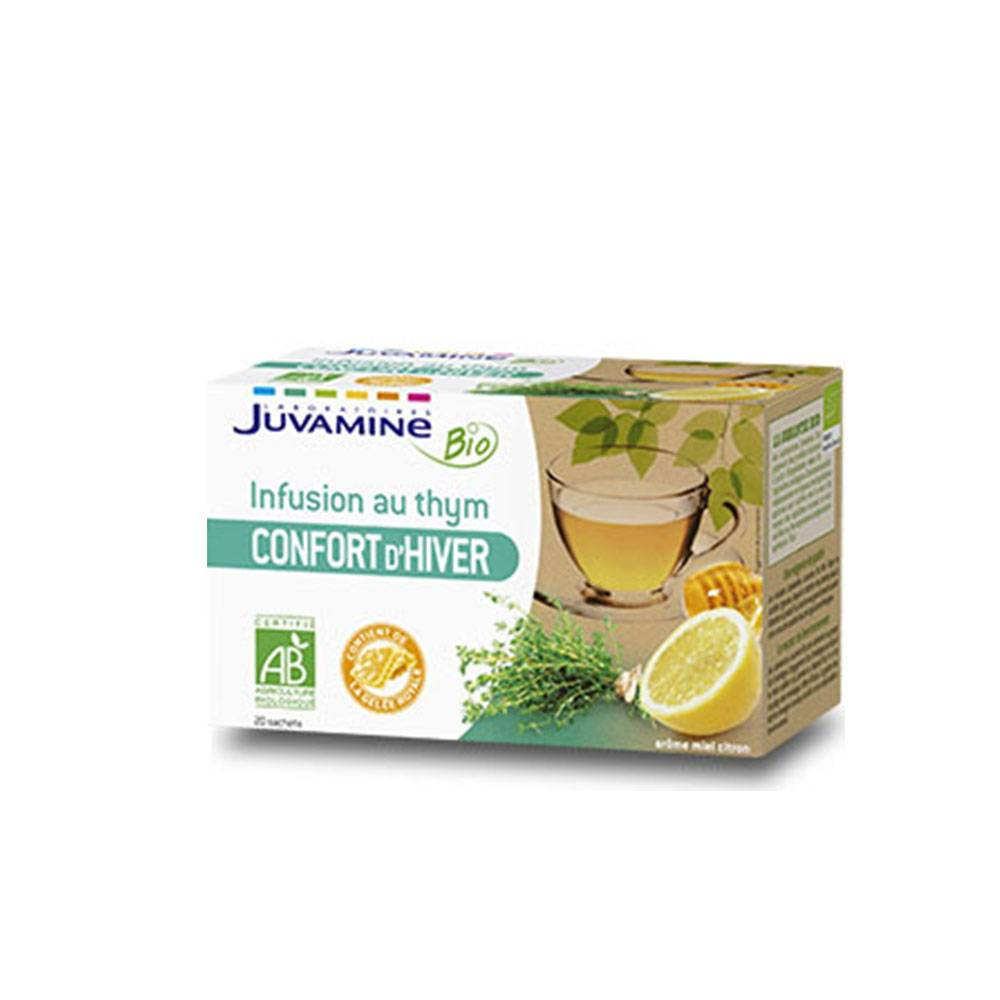 JUVAMINE BIO INFUSION CONFORT D'HIVER 20 SACHETS