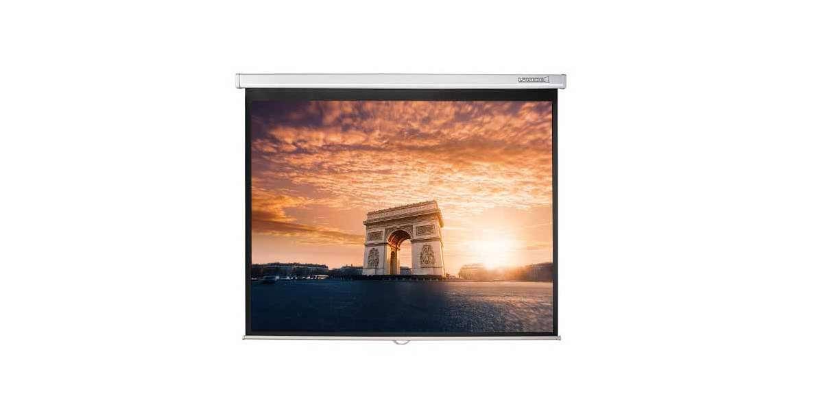 Lumene plazza hd 150 v écran manuel