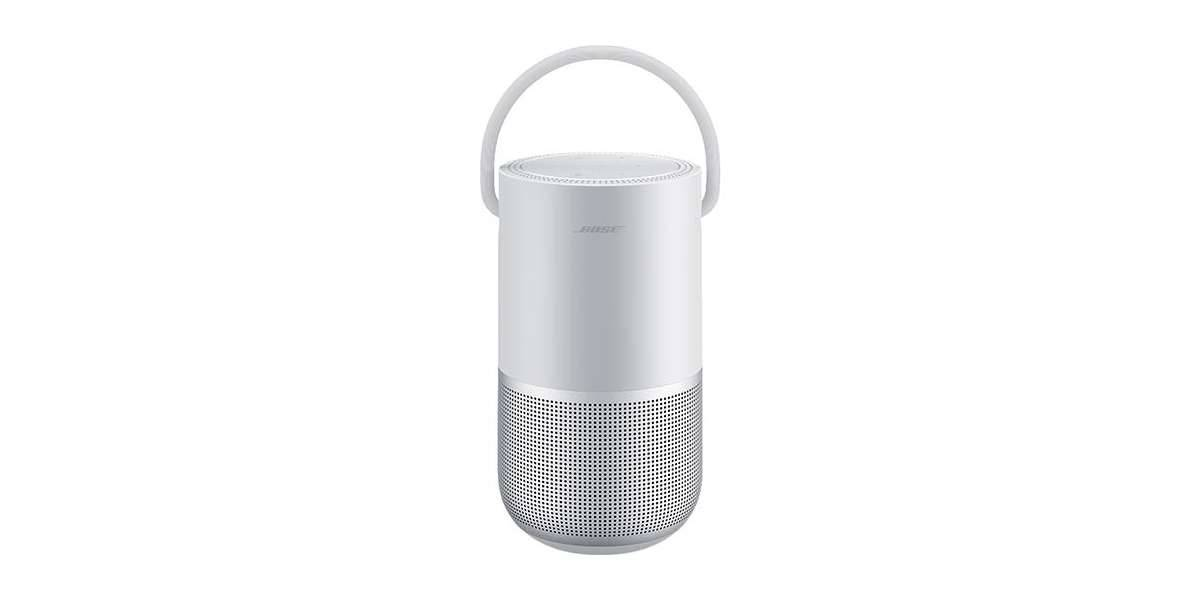 Bose portable home speaker luxe silver