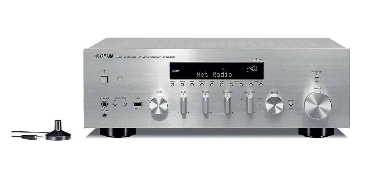 Yamaha musiccast r-n803d silver