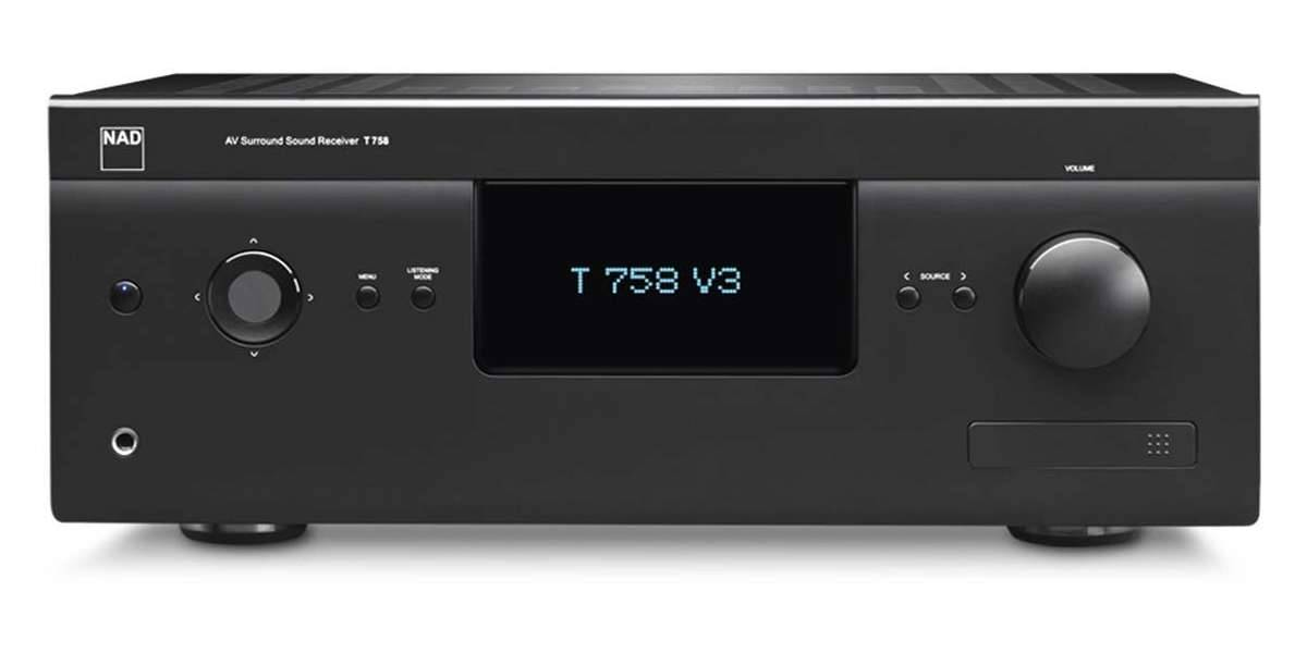 Nad T-758-v3 noir